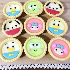 Tart (fancy food presentation petit fours) Mini Fruit Tarts, Mini Tart, Small Desserts, Cute Desserts, Cute Snacks, Cute Food, Fancy Food Presentation, Cute Bakery, Kawaii Dessert