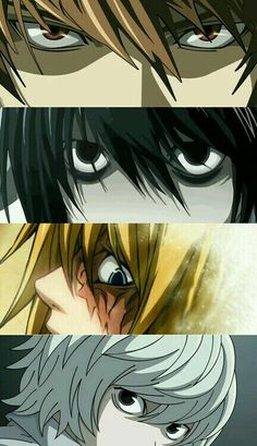 Death Note | Light,  Lawliet,  Mello and Near