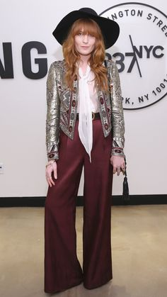 Florence Welch Brings a '70s Festival Girl Vibe to the City More