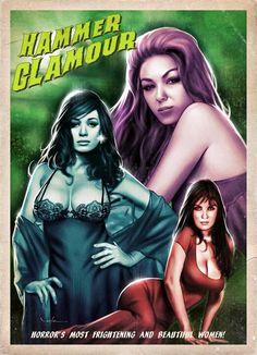 Girls horror movie hammer