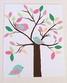 Baby Nursery Art Decor Spring Kids Wall Art by vtdesigns on Etsy