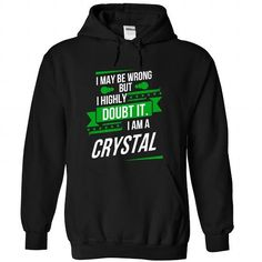 CRYSTAL-the-awesome - #cute hoodie #comfy sweatshirt. BUY TODAY AND SAVE   => https://www.sunfrog.com/LifeStyle/CRYSTAL-the-awesome-Black-75270003-Hoodie.html?id=60505