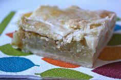 Mom's apple slices recipe. Yum!