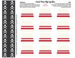 Free pirate printable... flags, cupcake wrappers, hats, banner, etc
