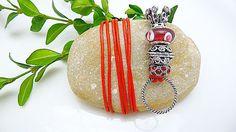 Wechselkette  Leder mit  Charmträger 7 Farben von Beads-for-Beginners auf DaWanda.com