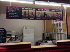 Our customer in Australia, BONZA Kurtos-kalacs... Just installed a new sign.. good work there BONZA....
