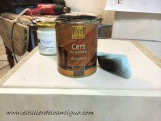 Como pintar muebles de melamina - **El Taller de lo Antiguo