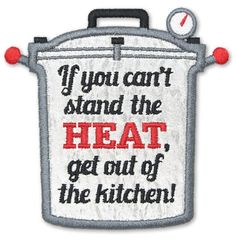 Kitchen Applique Fun Embroidery Collection