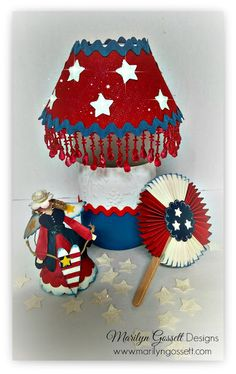 etched glass lamp with etchall dip'n etch and lamp kit http://marilyngossettdesigns.blogspot.com/2016/04/patriotic-lamp-with-etchall-dip-n-etch.html