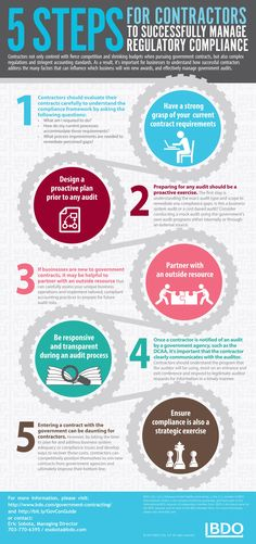 Government Contractors 5 Steps InfoG-FORM