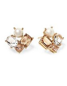 neutral cluster earrings  http://rstyle.me/~2Diqw