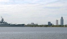 The Battleship!! Would always visit this when we went to the beach with my Grandma.. In Mobile, Alabama