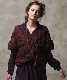 Farb-und Stilberatung mit www.farben-reich.com - Rowan crossed shawl