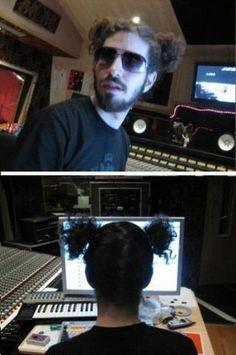 Baahaaa  Brad Delson - Linkin Park - suits him