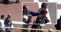 Vídeo mostra ladrões furtando celular e carteira em viaduto no Centro de SP