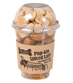 Spiced Latte new Fall Dog Treats from Three Dog Bakery. Come get a OFF Promo Code during September!PUP-kin Spiced Latte new Fall Dog Treats from Three Dog Bakery. Come get a OFF Promo Code during September! Dog Treat Recipes, Dog Food Recipes, Dog Treat Packaging, Packaging Ideas, Three Dog Bakery, Puppy Obedience Training, Dog Training Methods, Training Dogs, Dog Cafe