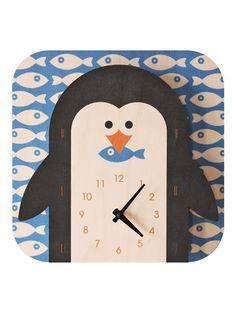Penguin clock!