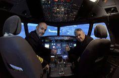 Un simulateur de vol maison qui vaut le détour [Avion insolite Jeux Simulation Transport]