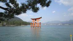 Miyajima Torii, Hiroshima, Japan