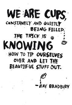 Brimming with self-awareness.