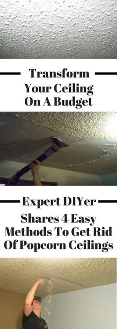 This easy DIY popcorn ceiling makeover will transform your ceilings! You may thi… Sponsored Sponsored This easy DIY popcorn ceiling Popcorn Ceiling Makeover, Removing Popcorn Ceiling, Popcorn Ceiling Removal, Cool Diy, Easy Diy, Simple Diy, Fractions, Diy Popcorn, Girl Rooms