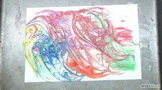 Bildtitel Paint Marbled Paper Using Shaving Cream Step 7 preview