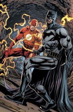 Batman & Flash by Jason Fabok