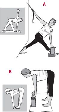 Lower back pain: Iyengar yoga therapy can help.