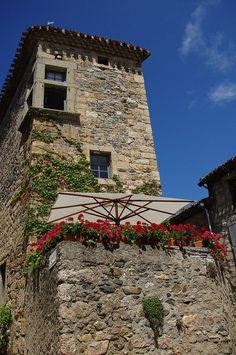 Caunes-Minervois southern, languedoc, Carcassonne, France
