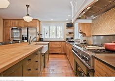 Loved this kitchen in Whispering Pines