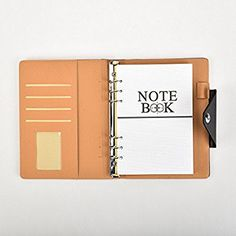 Office & School Supplies Einfache Leder Druckknopf Notebook Kleine Zeitplan Notebook Plannner Techo Notebooks