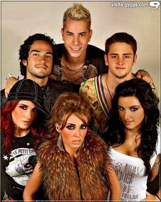 RBD.. i used to be overly obsessed with them.. lol