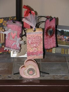 Valentine tags and box