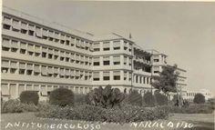 Sanatorio Antituberculoso (hoy Hospital General del Sur) fundado en 1948, obra gestionada y dirigida por el insigne medico Pedro Iturbe.