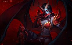 Queen Of Pain | DotA 2 VN | Pinterest | The ojays, The queen and