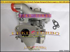 240.23$  Watch now - http://alivob.worldwells.pw/go.php?t=32318069414 - Turbo KP35 011 033 54359700011 54359700033 8200507852 Turbocharger For Renault Kangoo 2 Twingo II Dacia Logan 2004- K9K 1.5L dCi 240.23$