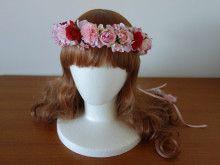 お色直し用のリボンつき花冠☆ |Ordermade Wedding Flower Item MY FLOWER ♪ まゆこのブログ