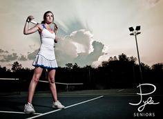 tennis senior portrait?