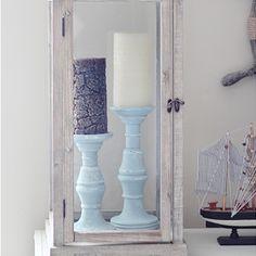 (10) Hometalk :: DIY Distressed Pillar Candle Holders