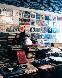 ah another place of fond memories. if you have never heard a record player with LPs, you are missing true music experience.  like human nature, life is not perfect. u enjoy it especially with the imperfections.