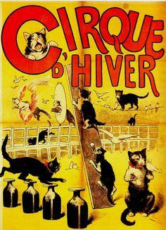 Affiches anciennes le cirque                              …