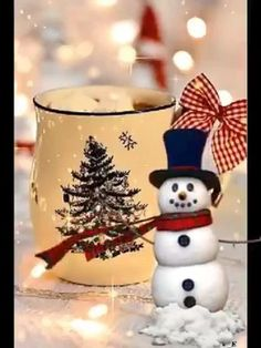 Christmas Scenery, Merry Christmas Images, Merry Christmas And Happy New Year, Christmas Music, Christmas Snowman, Christmas Crafts, Christmas Decorations, Xmas, Cute Good Night