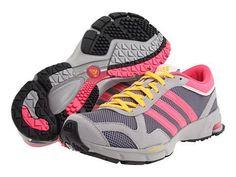 ebay.com:   Womens Adidas Marathon 10 Classic Running Sneakers New, Gray Pink Yellow G47934 by sonytvwatcher (251224757215)  $39.99