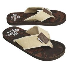 b748a3aa4f9 Corona Palm Tree Men's Bottle Opener Sandals Spot clean with damp cloth and  air dry Made in China