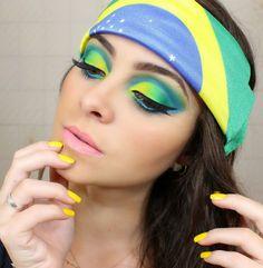 Exército Girls - Moda e Beleza: Maquiagem:Especial Copa 2014