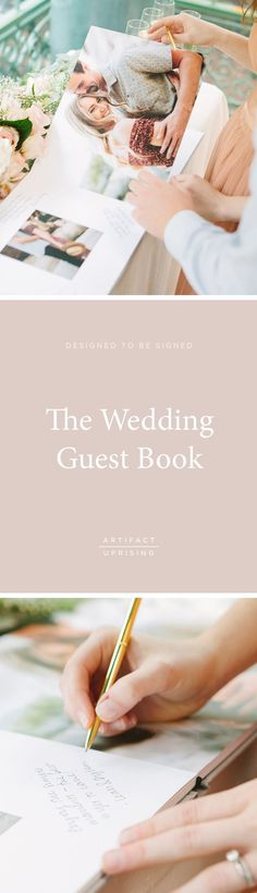 Designed with your best in mind. @artifactuprsng's Wedding Guest Book is the perfect match to your big day.