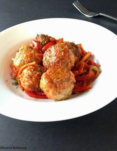 Кулинарные моменты: Полпетте из рыбы в овощном соусе