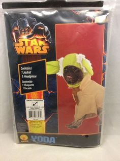If you're a Star Wars fan than this is the costume for your favorite pet!
