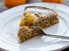 vegan-yums: Coconut Glazed Meyer Lemon Poppyseed Cake. vegan...
