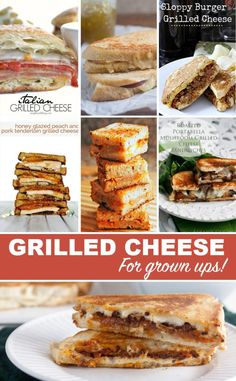10 Grilled Cheese Recipes for Grown Ups